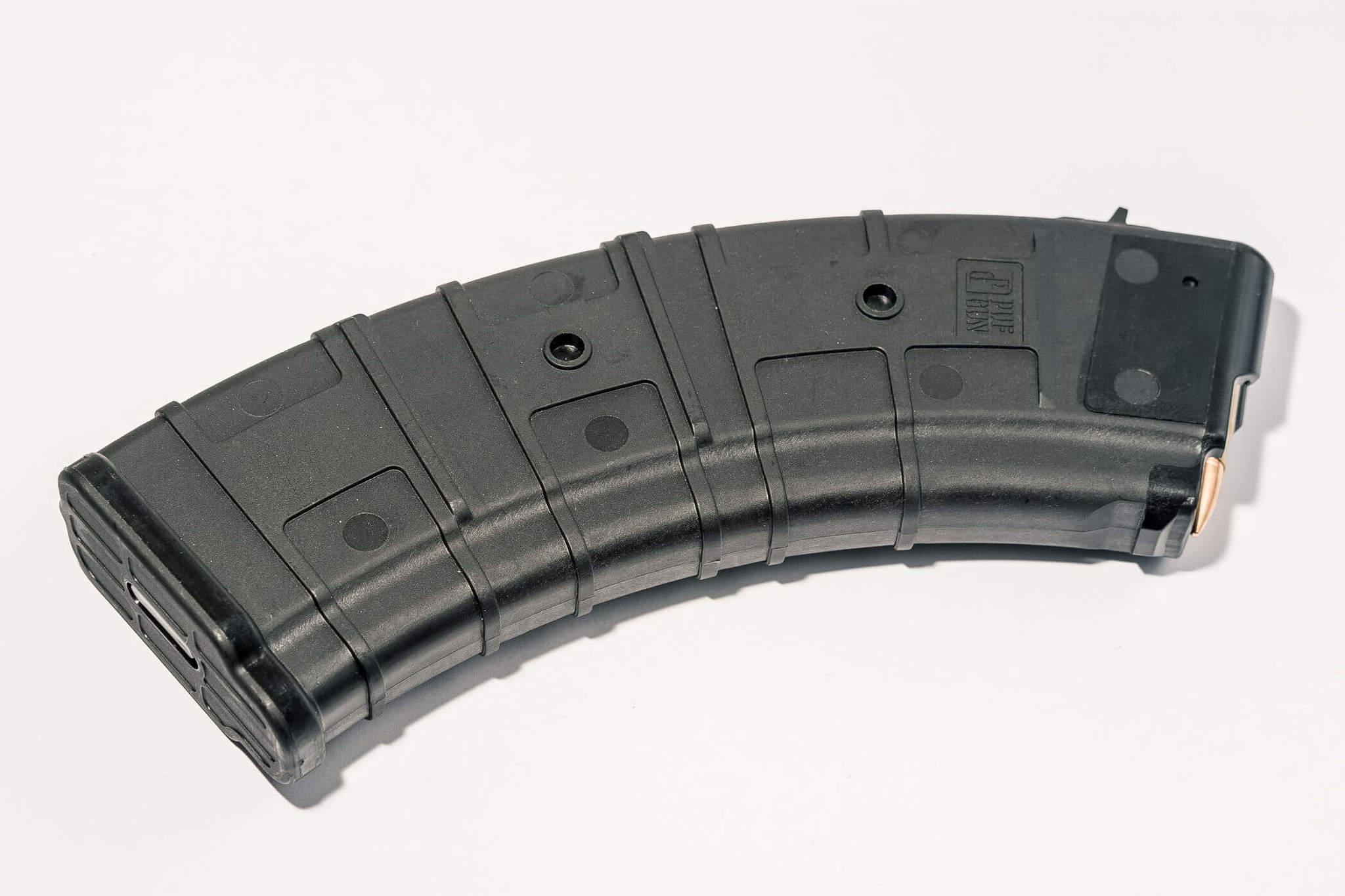 Магазин Pufgun для АКМ 7.62x39 ВПО-136 на 30 патронов, чёрный