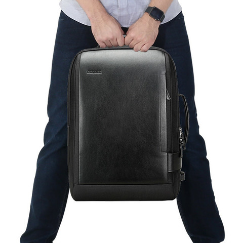 Рюкзак-сумка RK-002 BEQUEM, black, фото 8