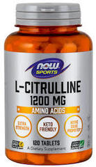 Now L-Citrulline 1200 mg. (120 tab.)