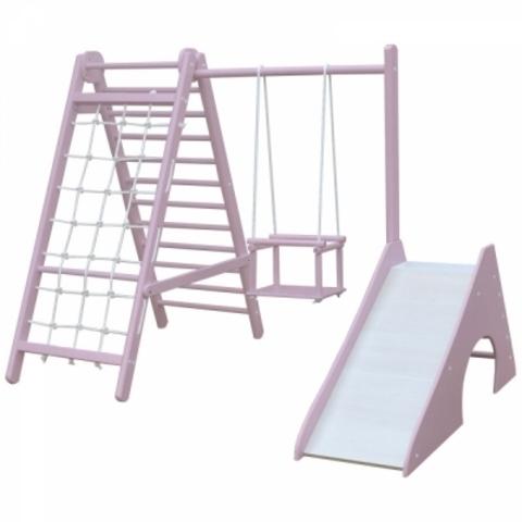 Детский комплекс для малышей mini-3 (Кремовый)