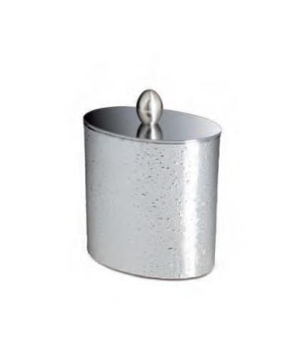Емкость для косметики 88306CR Oval Silver от Windisch
