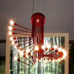 Italamp G_R10 Red — Потолочный подвесной светильник SPIRALE