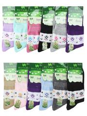 6709 Наташа носки женские 37-41 (12 шт.) цветные