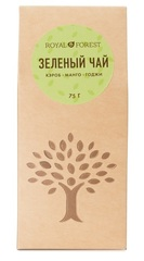 Чай зелёный, Royal Forest, (кэроб, манго, ягоды годжи), 75г.