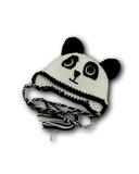 Шапка-зверюшка - Панда. Одежда для кукол, пупсов и мягких игрушек.