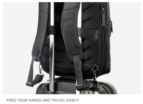 Рюкзак-сумка RK-002 BEQUEM, black, фото 10