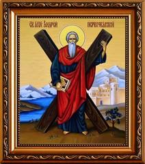 Андрей Первозванный Святой Апостол. Икона на холсте.
