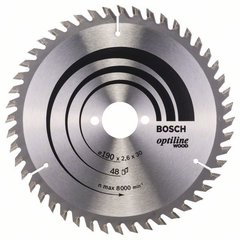 Пильный диск Optiline Wood 190x30x1,3 мм