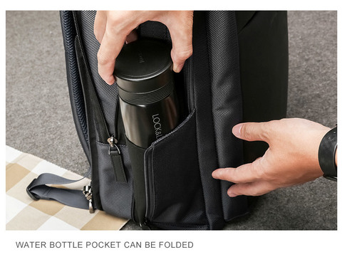 Рюкзак-сумка RK-002 BEQUEM, black, фото 11