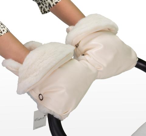 Муфта - рукавички для коляски Esspero Margareta (100% овечья шерсть)