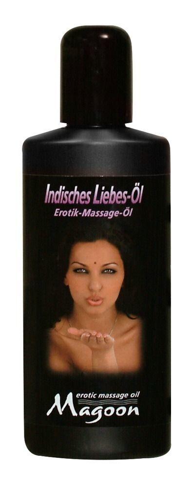 Массажные масла и свечи: Возбуждающее массажное масло Magoon Indian Love - 200 мл.