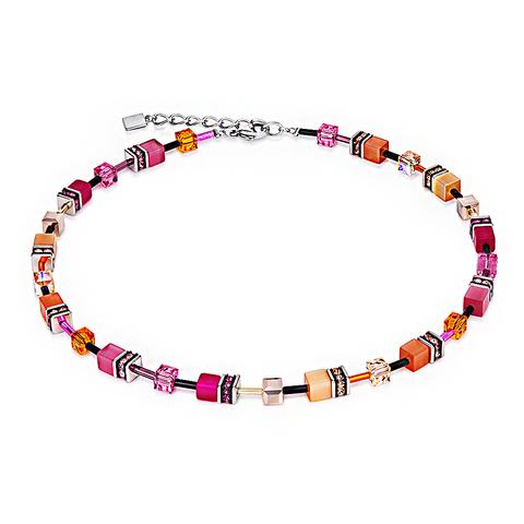 Колье Coeur de Lion 2838/10-0204 цвет оранжевый, розовый