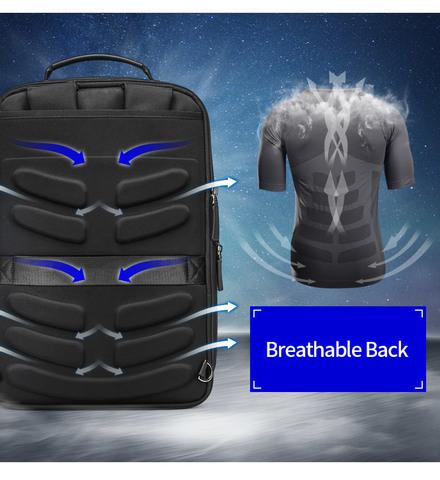 Рюкзак-сумка RK-002 BEQUEM, black, фото 12