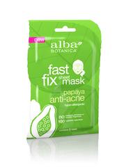 Тканевая глубокоочищающая маска ALBA BOTANICA для проблемной кожи с папайя, 15 гр