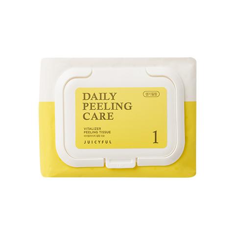 Пилинг Салфетки Juicyful Vitalizer Peeling Tissue Vitamin #Витамин