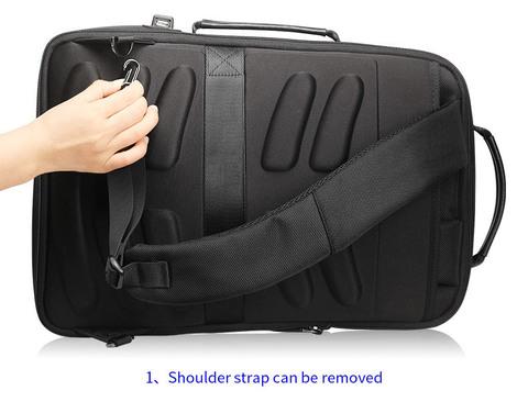 Рюкзак-сумка RK-002 BEQUEM, black, фото 13