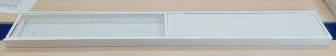 Светодиодный светильник 27Вт 2700лм 4000K опал с облучателем бактерицидным (UVC+UVA) открытого действия 12Вт 1190*150*40 (с 2-мя драйверами) ГЕНСВЕТ