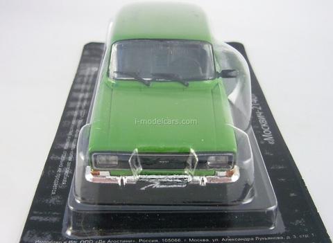 Moskvich-2140 green 1:43 DeAgostini Auto Legends USSR #27