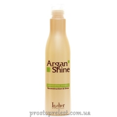 LeCher Professional Argan Shine Shampoo - Шампунь восстанавливающий с аргановым маслом