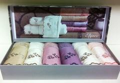 Набор салфеток ELYSEE ЭЛИСИ в размере 30*50 Maison Dor (Турция)