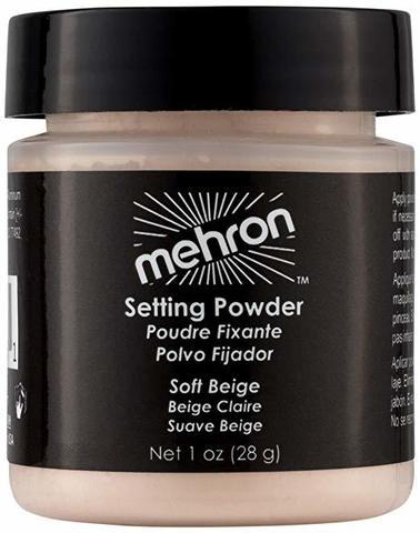 MEHRON Финишная пудра-закрепитель UltraFine Setting Powder, Soft Beige (Нежно-бежевый), 16 г