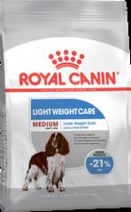 Корм для собак, Royal Canin Medium Light Weight Care, склонных к набору весу
