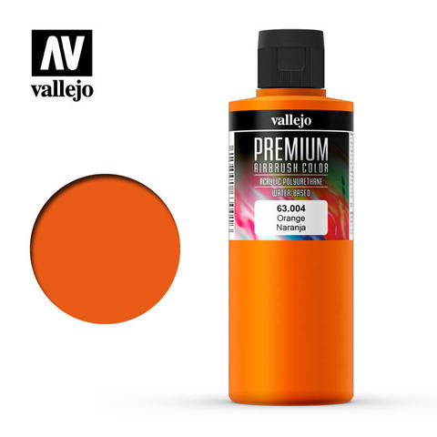 Premium Airbrush Orange 200 ml.