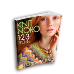 Журнал KNIT NORO: 1-2-3 Skeins