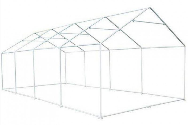 Схема сборки шатра Митек Пикник Гросс 8,0х4,0 Ø 40 мм