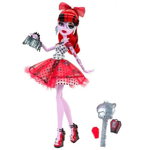 Кукла Монстер Хай Оперетта (Operetta) - Смертельно Прекрасный Горошек (Dot Dead Gorgeous), Mattel