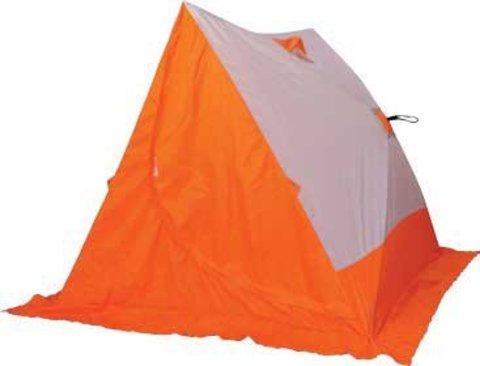 Зимняя палатка СЛЕДОПЫТ двускатная PF-TW-18/19 (белый/оранжевый)