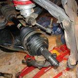 Замена внешнего пыльника ШРУС Nissan Navara фото-1