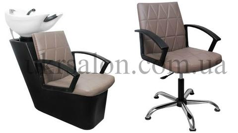 Комплект парикмахерской мебели Optima