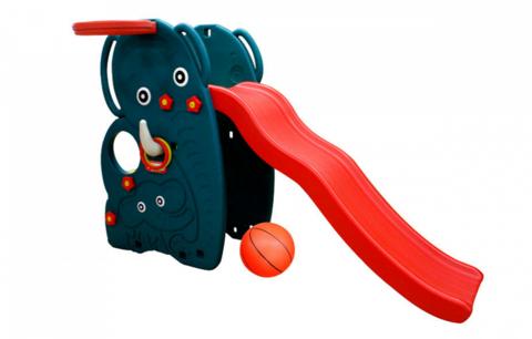 """JM-765 W Горка-волна """"Слон"""" с баскетбольным кольцом и мячом (стандарт)"""