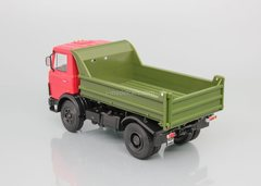 MAZ-5551 dump truck red-khaki 1:43 DeAgostini Auto Legends USSR Trucks #31