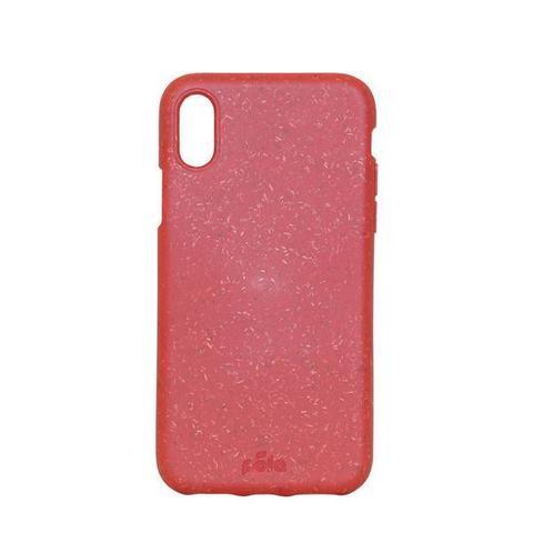 Чехол для телефона Pela iPhone X красный