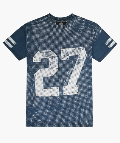 Футболка The Saints Sinphony 27 JERSEY BLUE AND WHITE