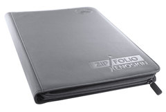 9-Pocket ZipFolio XenoSkin Grey