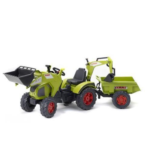 Педальный трактор с прицепом 225 см