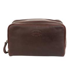 Несессер Klondike Digger Tad, темно-коричневый, 25x17x15 см