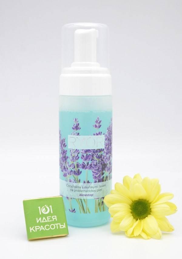 Ryor Aknestop Очищающая пена с морскими водорослями для проблемной кожи