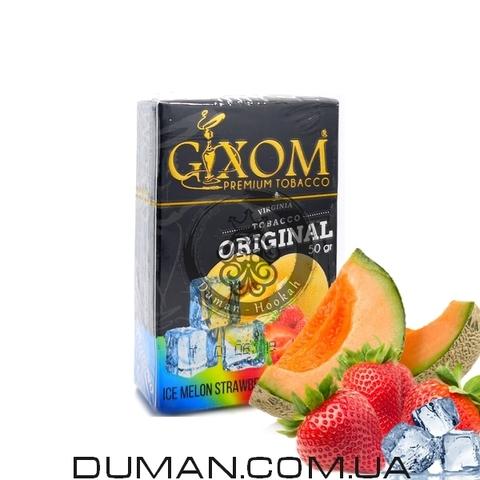 Табак Gixom Ice Melon Strawberry (Гиксом Лед Дыня Клубника)