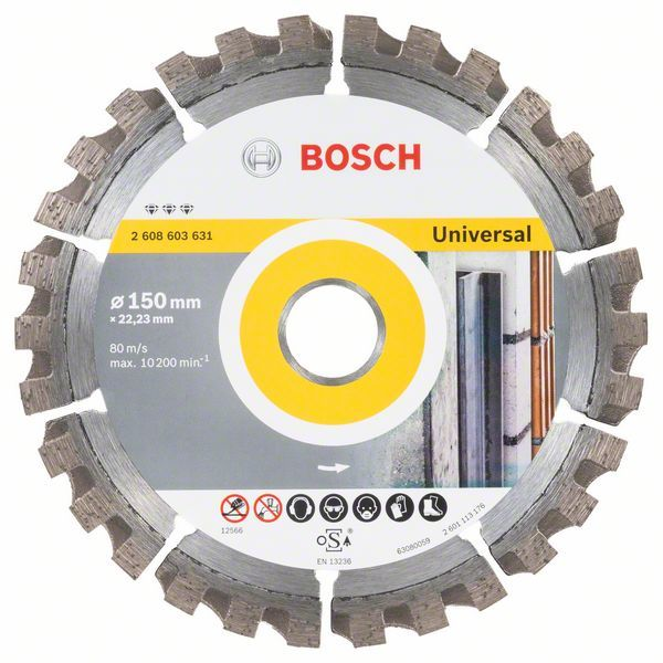 Алмазный диск Best for Universal 150-22,23 Bosch 2608603631