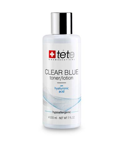 Тоник-лосьон с гиалуроновой кислотой / TETe CLEAR BLUE Toner-Lotion, 200 мл