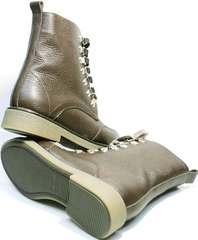 Теплые зимние ботинки женские Studio27 576c Broun.