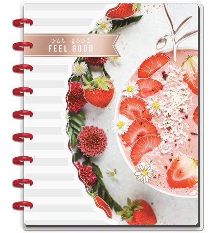 Блокнот для записи кулинарных рецептов Classic Happy Notes™ -  19,5х24,5см-Recipe Foodie