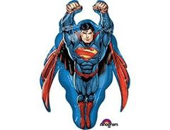 Фольгированный шар Супермен летящий