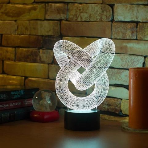 3D лампа Абстракция #2