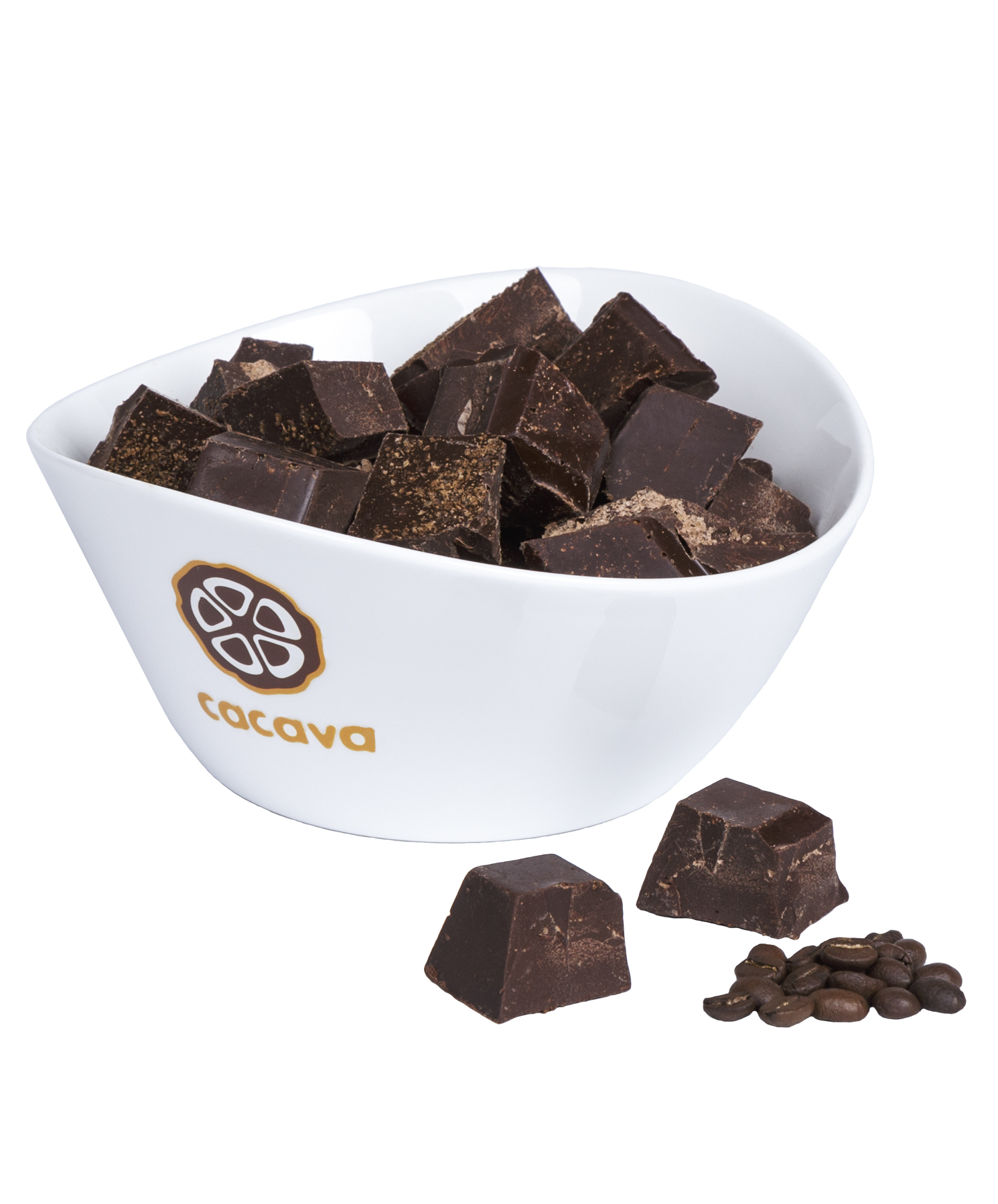 Тёмный шоколад с кофе 70 % какао (Колумбия, Tumaco), внешний вид