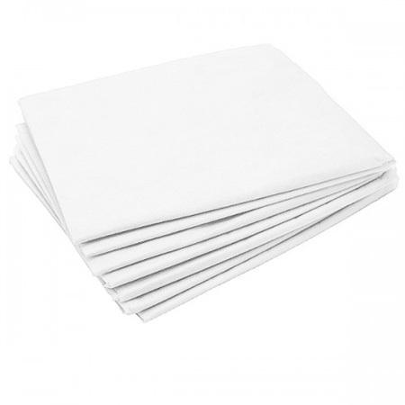 Одноразовые простыни Одноразовые простыни Комфорт сложенные, белые, СМС, 200х80см (25шт/уп) Простыни-одноразовые-белые.jpg